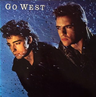 Go West - Go West (LP) (EX-/EX)